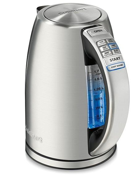 Best Programmable Electric Tea Kettle - Cuisinart CPK-17AMZ Kettle